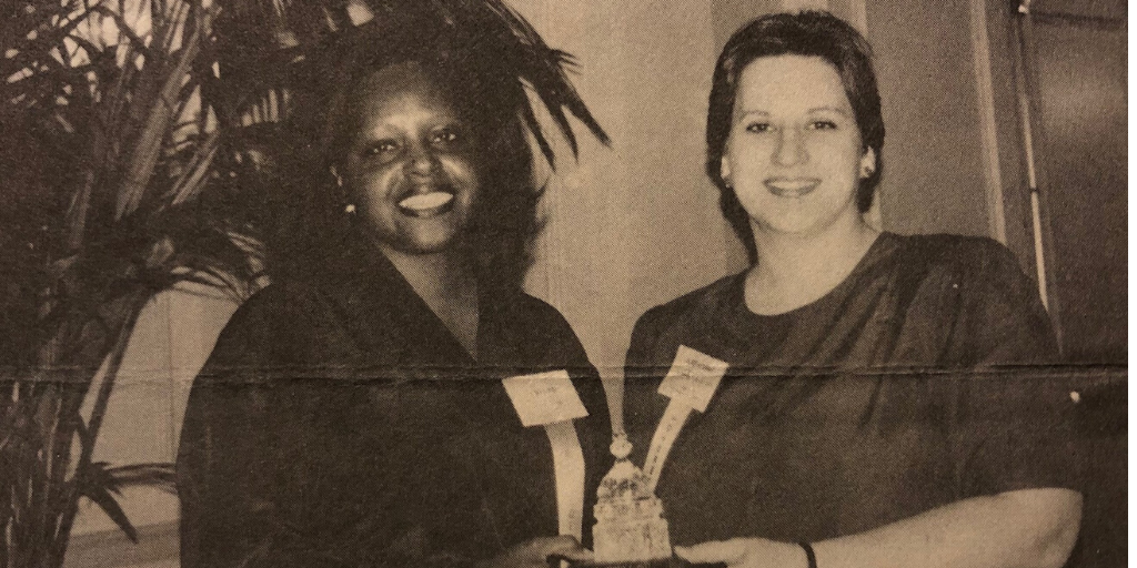 1994 Woman of the Year Award Finalists Evelyn Fraser and Katherine Hutt