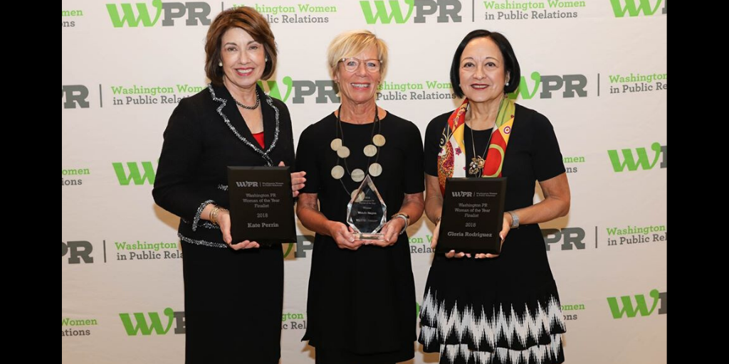 2018 Woman of the Year Award Finalists Kate Perrin, Wendy Hagen and Gloria Rodriguez
