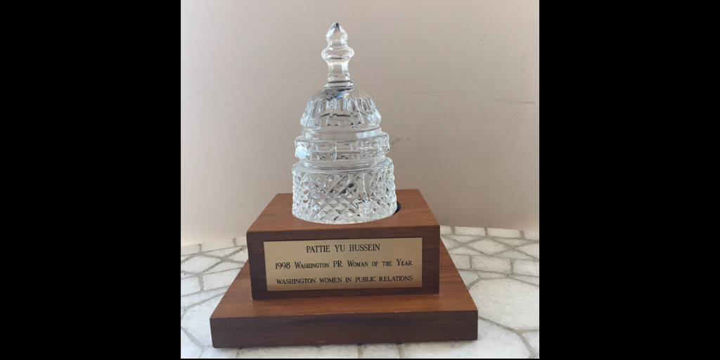 1998 Woman of the Year Award Statue