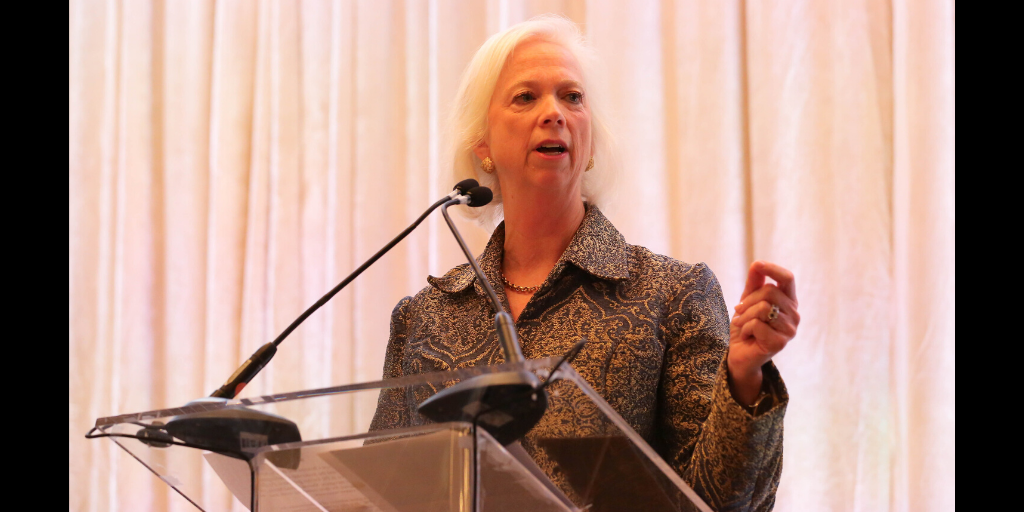 Remarks by 2016 Woman of the Year Award Winner Martha Boudreau