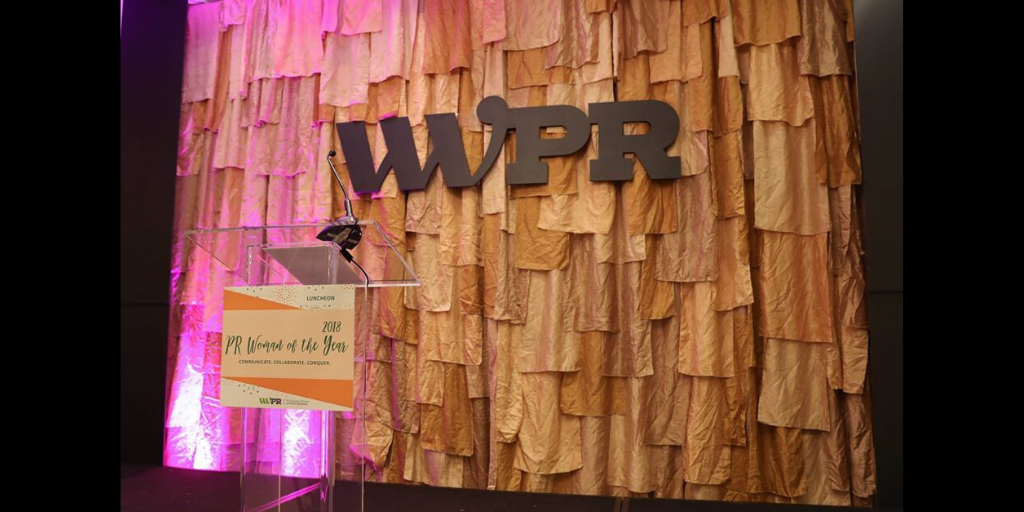 2018 Woman of the Year Award Luncheon Stage