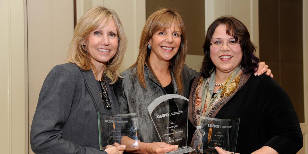 2010 Woman of the Year Award Finalists Johanna Schneider, Debra Silimeo and Donna Vincent Roa
