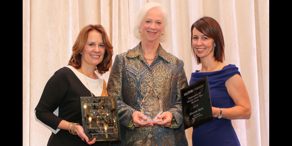 2016 Woman of the Year Award Finalists Maria Rodriguez, Martha Boudreau and Sharon Reis